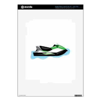 Jet Ski iPad 3 Decals