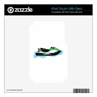 Jet Ski Skin For iPod Touch 4G