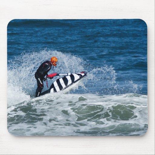 Jet ski water sport moousepad mousemat mouse pad zazzle