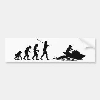 Jet Skier Bumper Stickers