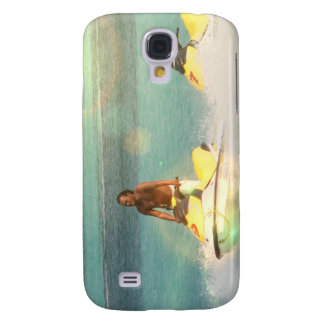 Jet Skier  iPhone 3G Case Samsung Galaxy S4 Cover