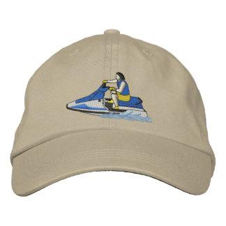 Jet Skier (sitting) Embroidered Hat