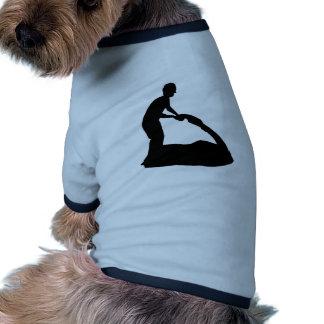 Jet Skiiing Doggie Tee Shirt