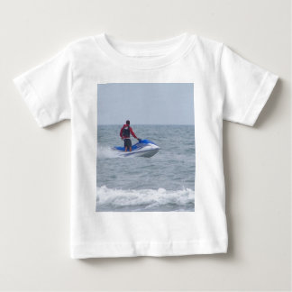 jet skiing at the beach baby T-Shirt