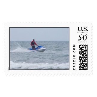 JET SKIING AT THE BEACH POSTAGE