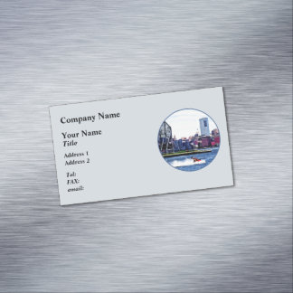 Jet Skiing by Colgate Clock Business Card Magnet