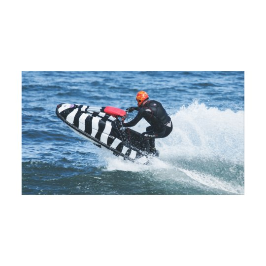 Jet Skiing Water Sport Canvas