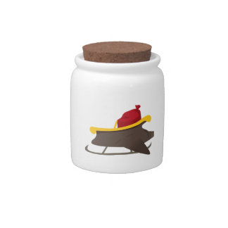 Jet Sleigh Candy Jars