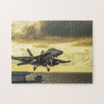 Jet Taking Off Military Jigsaw Puzzle