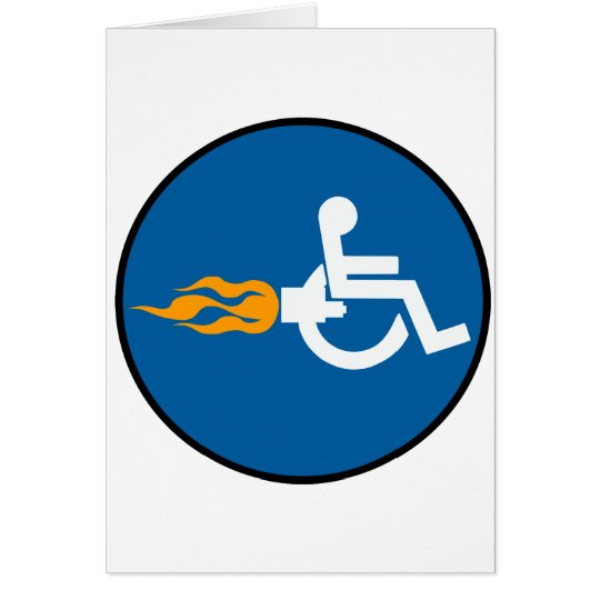 Jet Wheelchair Card
