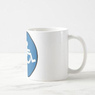 Jet Wheelchair Coffee Mug