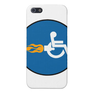 Jet Wheelchair iPhone SE/5/5s Case