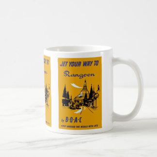 Jet Your Way to Rangoon Coffee Mug