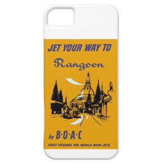 Jet Your Way to Rangoon iPhone SE/5/5s Case