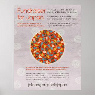 JETAANY Fundraiser for Japan Poster