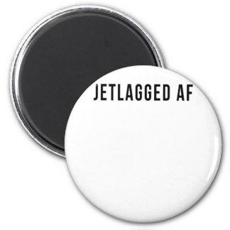 JETLAGGED AF MAGNET