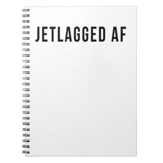JETLAGGED AF NOTEBOOK