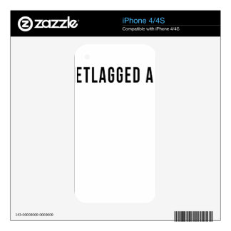 JETLAGGED AF SKINS FOR iPhone 4S
