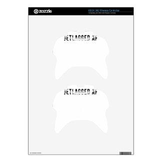 JETLAGGED AF XBOX 360 CONTROLLER DECAL