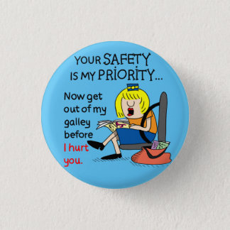 Jetlagged Comic | Your Safety Round Button