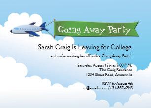 going to college invitations zazzle