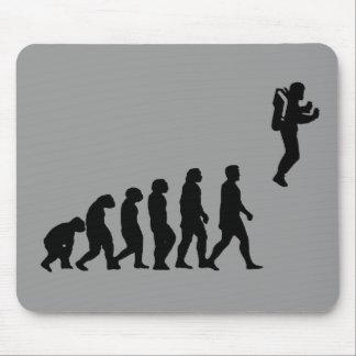 Jetpack Evolution mouse pad