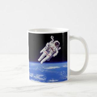 Jetpack Spacewalk Classic White Coffee Mug