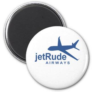 JetRude Airways 2 Inch Round Magnet