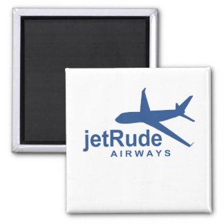 JetRude Airways 2 Inch Square Magnet