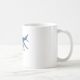 JetRude Airways Classic White Coffee Mug