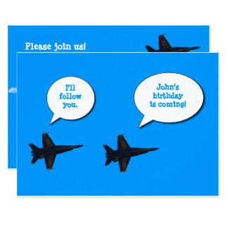 Jets Boys Birthday Card