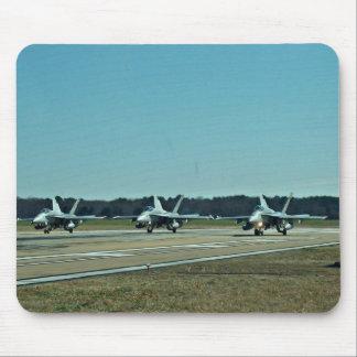 Jets de la marina de guerra tapete de ratón