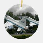 Jets de la NASA Adorno Navideño Redondo De Cerámica