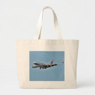Jets de los aeroplanos bolsa lienzo