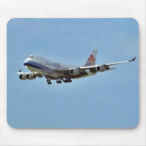 Jets de los aeroplanos tapete de ratón