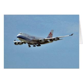 Jets de los aeroplanos tarjetas