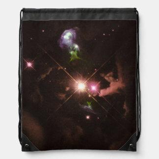 Jets del material expulsados de una estrella joven mochilas
