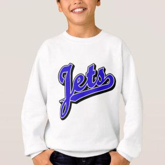Jets in Blue Sweatshirt
