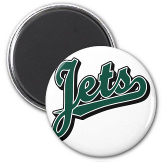 Jets in Green and Black Magnet