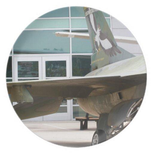 Jets militares plato de comida