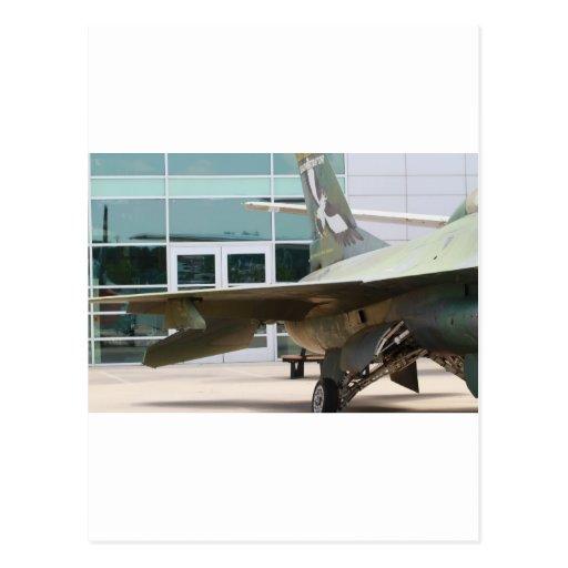 Jets militares tarjeta postal