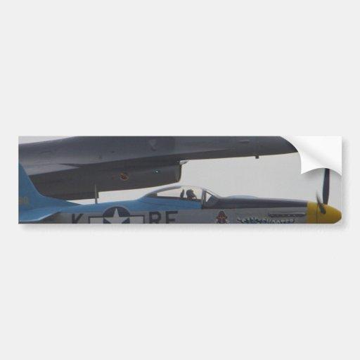 Jets Planes Pilot Car Bumper Sticker