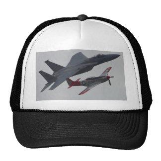 Jets Planes Pilots Cockpits Propellers Trucker Hats