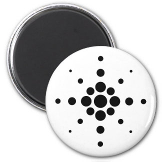 Jets samples of circles of circles rays pattern magnet