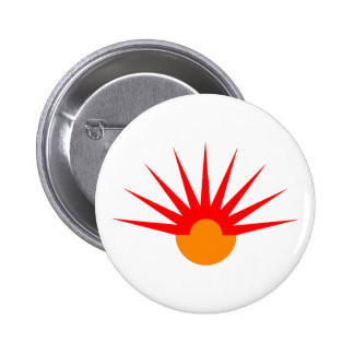 Jets semi-circle rays semicircle pinback buttons