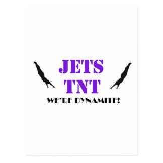 Jets TNT Dynamite Postcard
