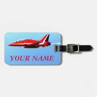 Jets Travel Luggage Tag