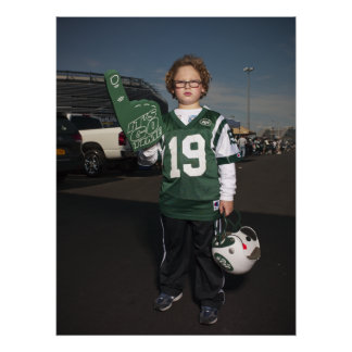 Jets vs Patriots Tail Gate Party Poster