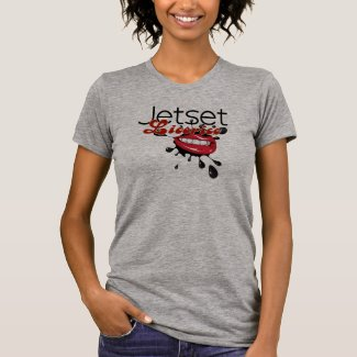 Jetset Licorice > Womens T-Shirt - Lip Service