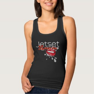 Jetset Licorice > Women's Tank Top